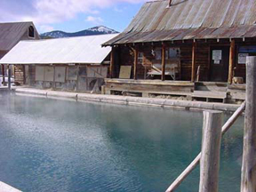Burgdorf Hot Springs pool
