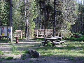 Loon Lake Trail Head, Chinook Campground